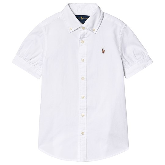 Ralph Lauren Oxford Shirt White 001
