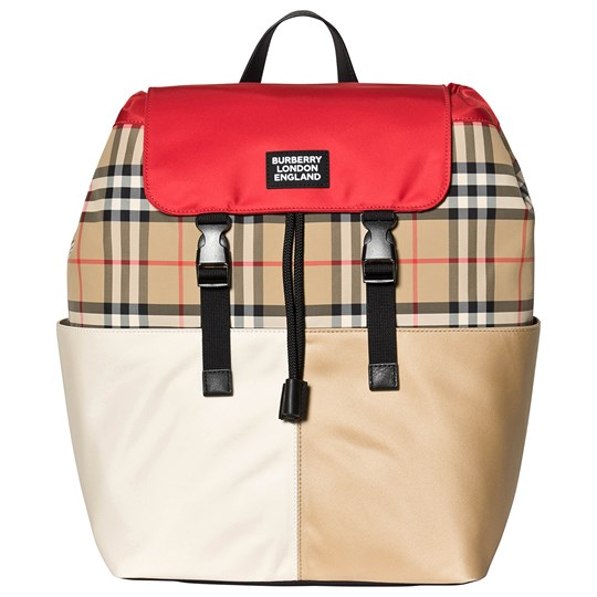 Burberry Vintage Check Backpack Archive Beige A7026