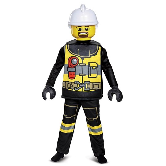 Lego Firefighter Deluxe Costume Size S