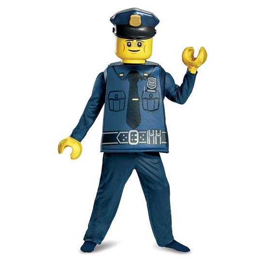 Lego Police Deluxe Costume Size S