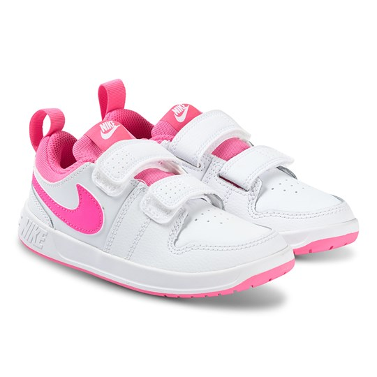 NIKE Pico 5 Sneakers White and Pink Blast 102
