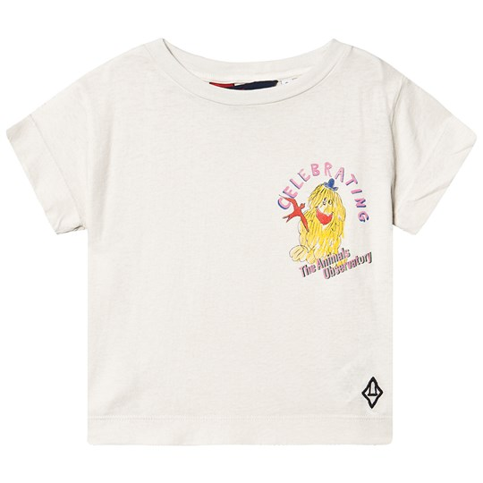 The Animals Observatory Rooster T-Shirt White Celebrating WHITE CELEBRATING