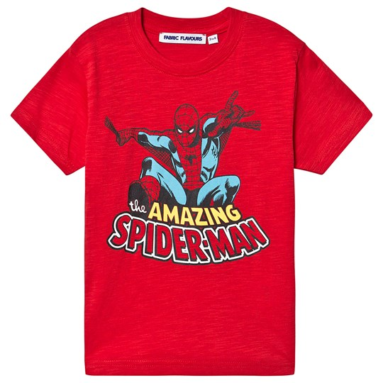 Fabric Flavours Spiderman™ T-shirt Röd Red