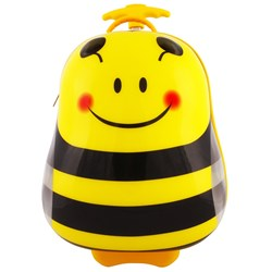 Best Time Toys Bee Suitcase Yellow