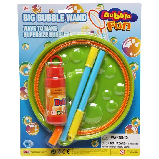 Best Time Toys Big Bubble Wand Blue