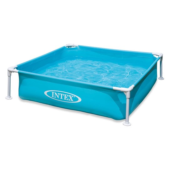 Intex 342L Mini Ramme Basseng 122 x 122 x 30cm Blue