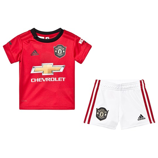 Manchester United Manchester United '19 Home Infants Kit Top:real red Bottom:WHITE