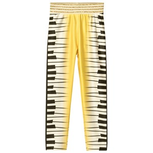 Image of Raspberry Plum Piano Leggings Gul 2-3 år (1072757)