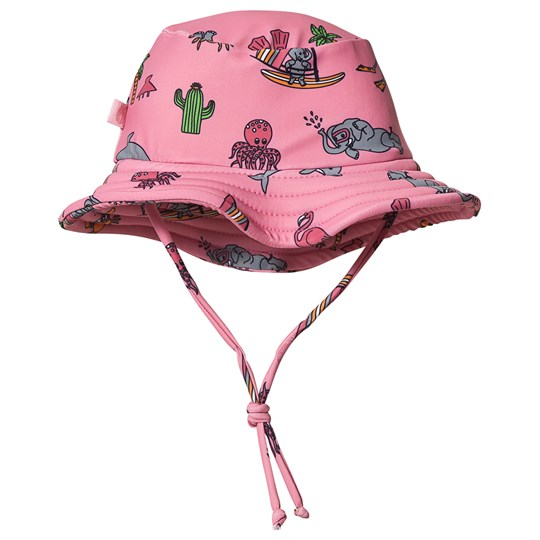 Småfolk Solhatt UPF 50+ Sea World Sky Pink SEA PINK
