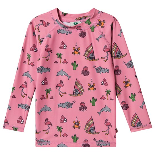 Småfolk UV Long Sleeve T-Shirt UPF 50+ SEA PINK