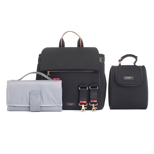 Storksak St James Scuba Changing Bag Black Black