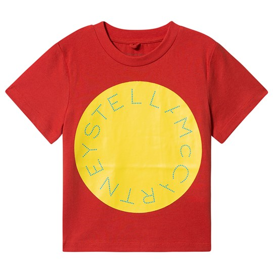 Stella McCartney Kids Logo Tee Red 7545