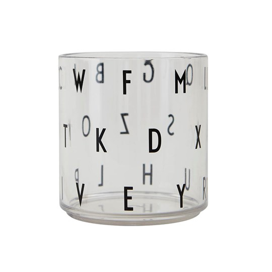 Design Letters Kids ABC Personal Drinking Glass TRANSPARENT