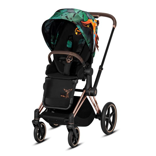 Cybex e-Priam Stroller Fashion Edition Birds of Paradise Birds of Paradise