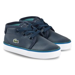 Lacoste Ampthill Kids Sneakers Marinblå
