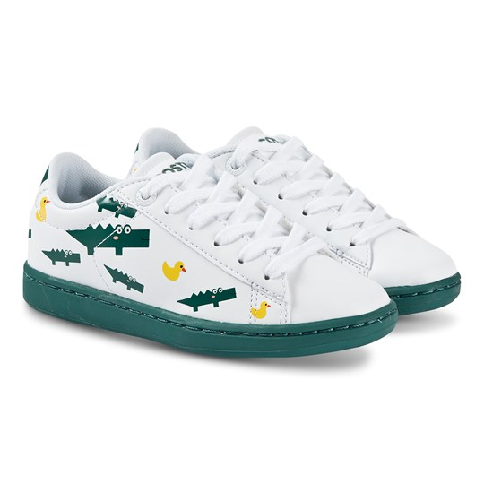 Lacoste Carnaby Sneakers White and Green 082