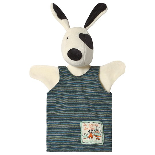 Moulin Roty Julius The Dog Hand Puppet White