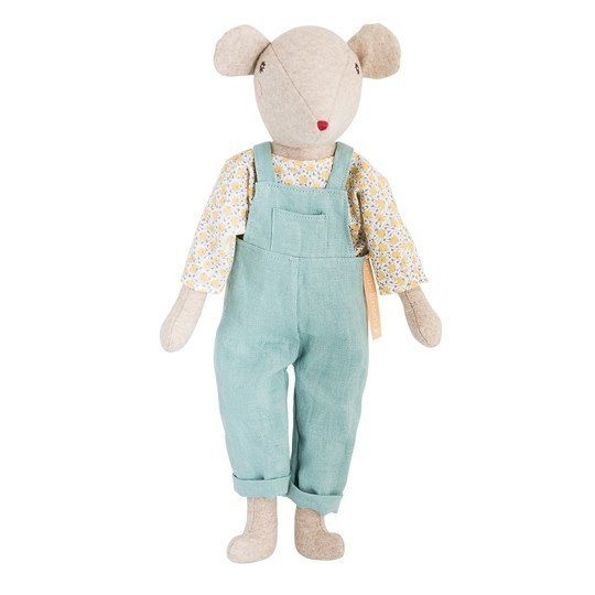 Moulin Roty Daddy Mouse Beige