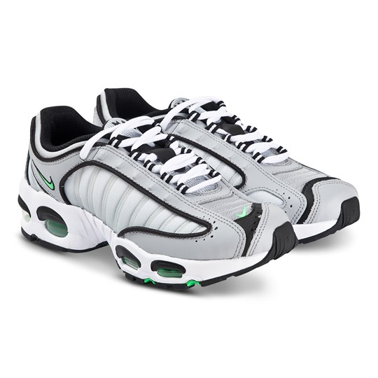 NIKE Air Max Tailwind IV Sneakers Wolf Grey and Green Spark 006