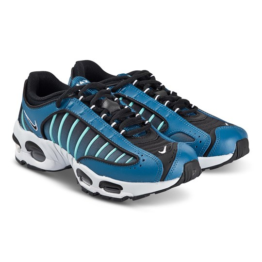 NIKE Air Max Tailwind IV Sneakers Industrial Blue and Black 400
