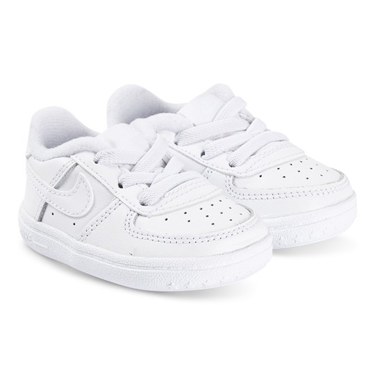 NIKE Force 1 Crib Sneakers White 100
