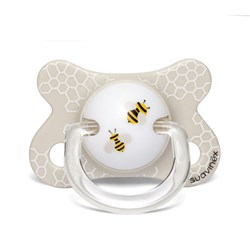 Suavinex Fusion Anatomical Silicone Pacifier 2-4m Bee