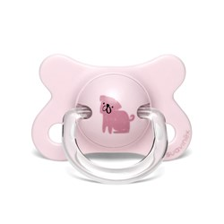 Suavinex Fusion Physiological Latex Pacifier 2-4m Dog/Pink