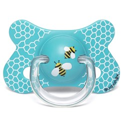 Suavinex Fusion Physiological Latex Pacifier 4-18m Honeycomb