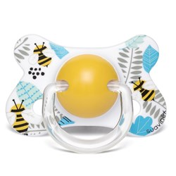 Suavinex Fusion Physiological Latex Pacifier 4-18m Bee
