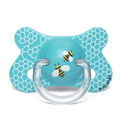Suavinex Fusion Physiological Silicone Pacifier 4-18m Honeycomb