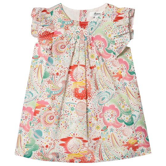 Bonpoint Constellation Liberty Print Smocked Kjole 680
