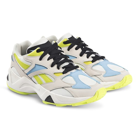 Reebok Aztrek 96 Sneakers Stucco and Semi Solar Yellow STUCCO