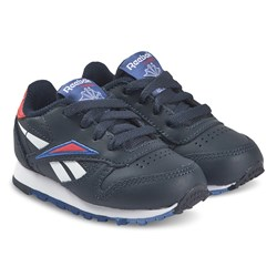 Reebok Klassisk Læder Infants Sneakers Navy