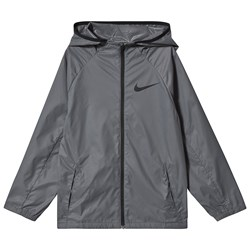 NIKE Hooded Training Jacket Grey
