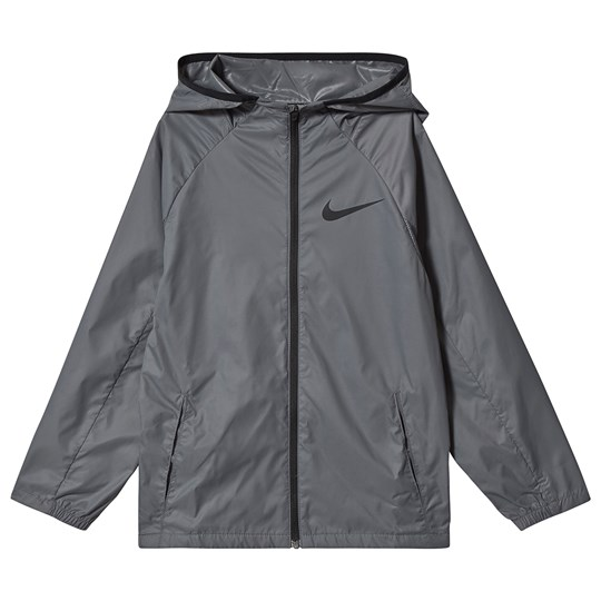 NIKE Hooded Training Jacket Grey 100
