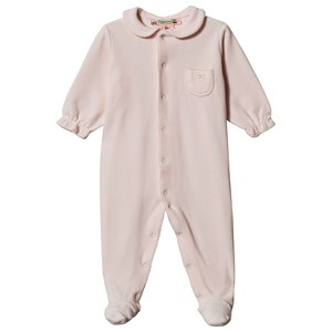 Image of Bonpoint Velour Footed One-Piece Pink 6 months (1575685)