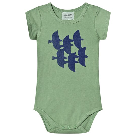 Bobo Choses Flying Birds Baby Body Aspen Green Aspen Green