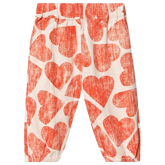 Bobo Choses Hearts Baggy Pants Turtledove Turtledove