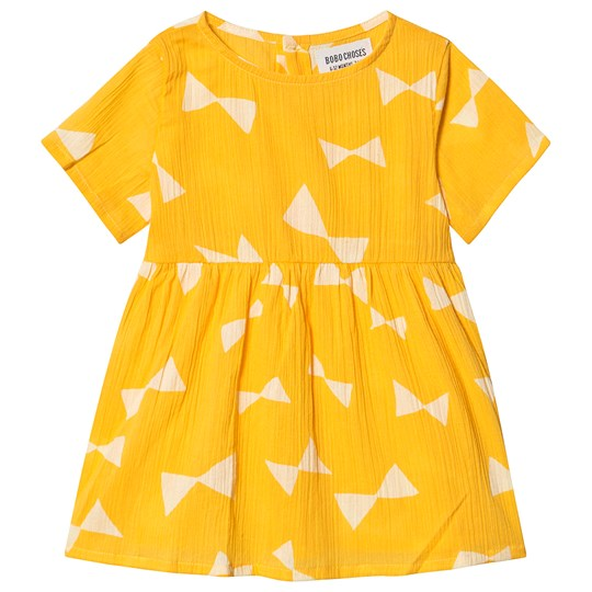 Bobo Choses Bow Dress Spectra Yellow Spectra Yellow