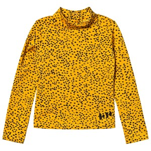 Image of Bobo Choses Leopard Print Bade Top Spectra Yellow 12-18 Months (1572915)