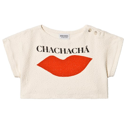 Bobo Choses Chachacha Kiss Crop Top Turtledove Turtledove