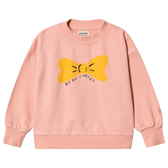 Bobo Choses Bow Sweatshirt Blooming Dahlia Blooming Dahlia