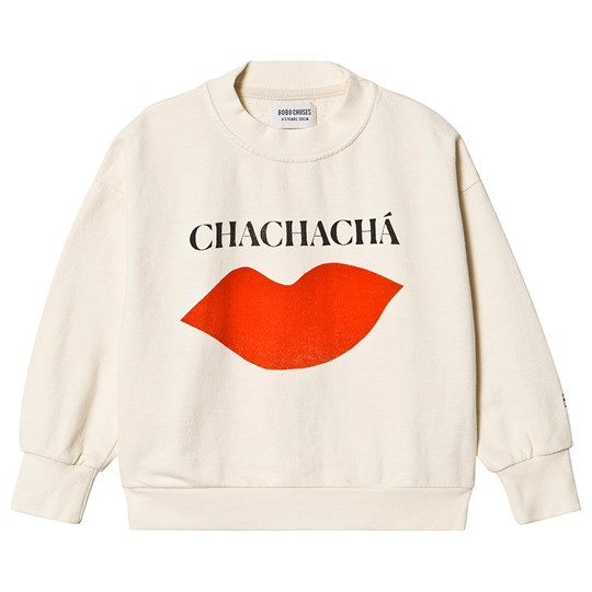 Bobo Choses Chachacha Kiss Sweatshirt Turtledove Turtledove