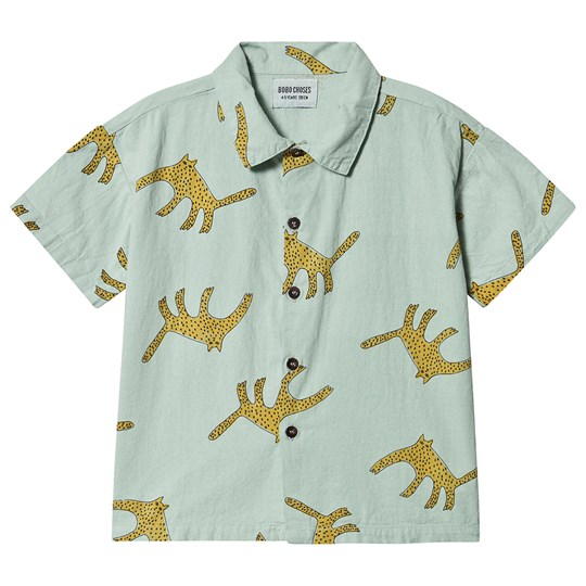 Bobo Choses Leopards Shirt Frosty Green Frosty Green
