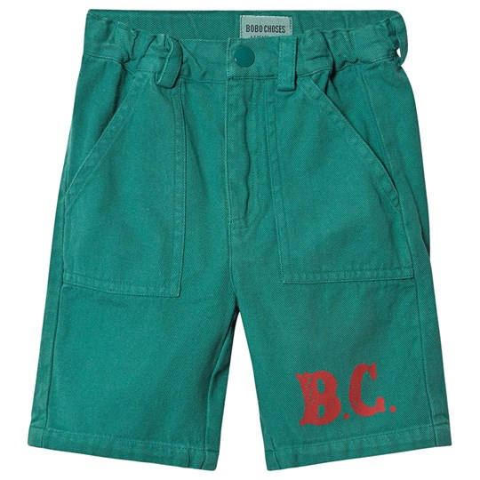 Bobo Choses B.C. Bermuda Shorts Cadmium Green Cadmium Green