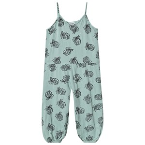 Image of Bobo Choses Pineapple Jersey Jumpsuit Frosty Green 2-3 Years (1573296)