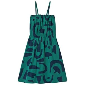 Image of Bobo Choses Abstract Jersey Kjole Cadmium Green 2-3 år (1573333)