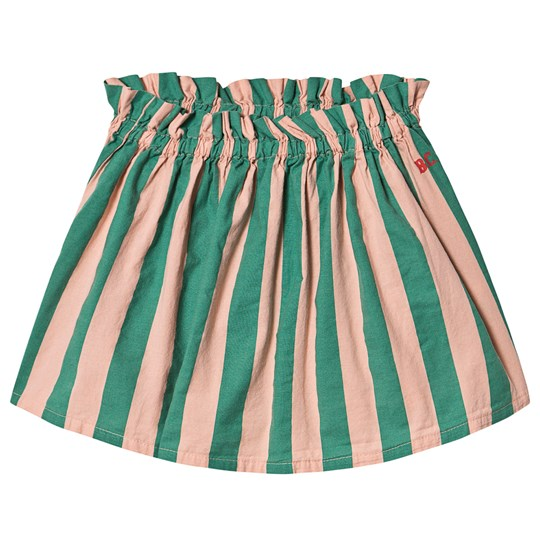 Bobo Choses Striped Flared Skirt Blooming Dahlia Blooming Dahlia