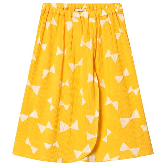 Bobo Choses Bow Wrap Midi Skirt Spectra Yellow Spectra Yellow