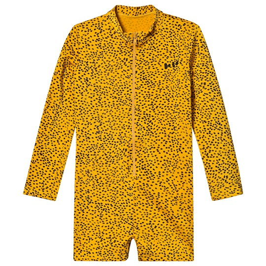 Bobo Choses Leopard Swimsuit Spectra Yellow Spectra Yellow